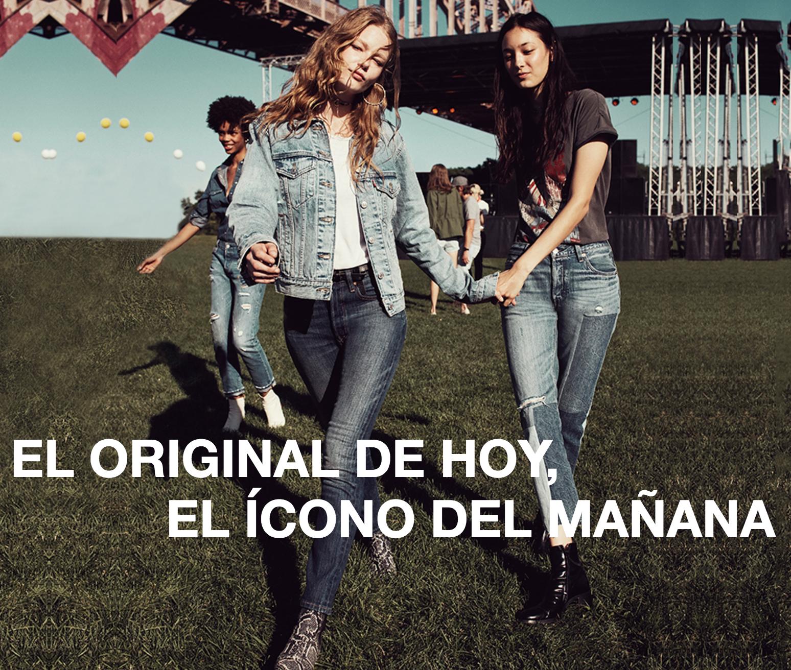 original de hoy, ícono del mañana denim jeans levi's
