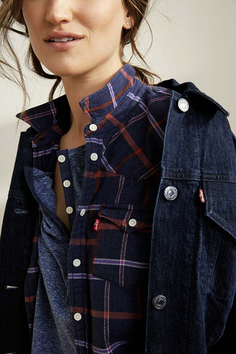 jacket and blouse