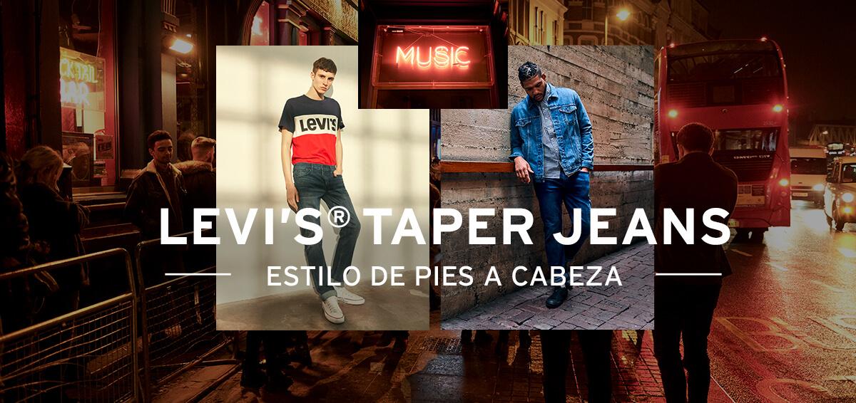 LEVIS TAPER JEANS ESTILO DE PIES A CABEZA 501 502 512