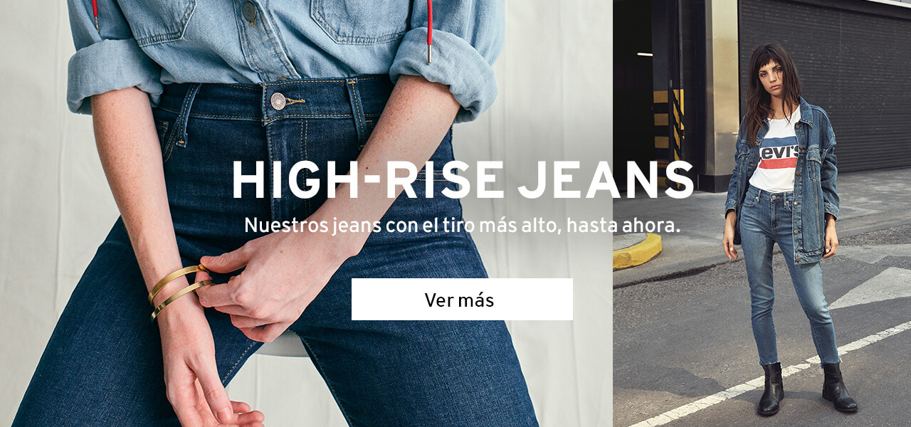 high rise jeans Levi's