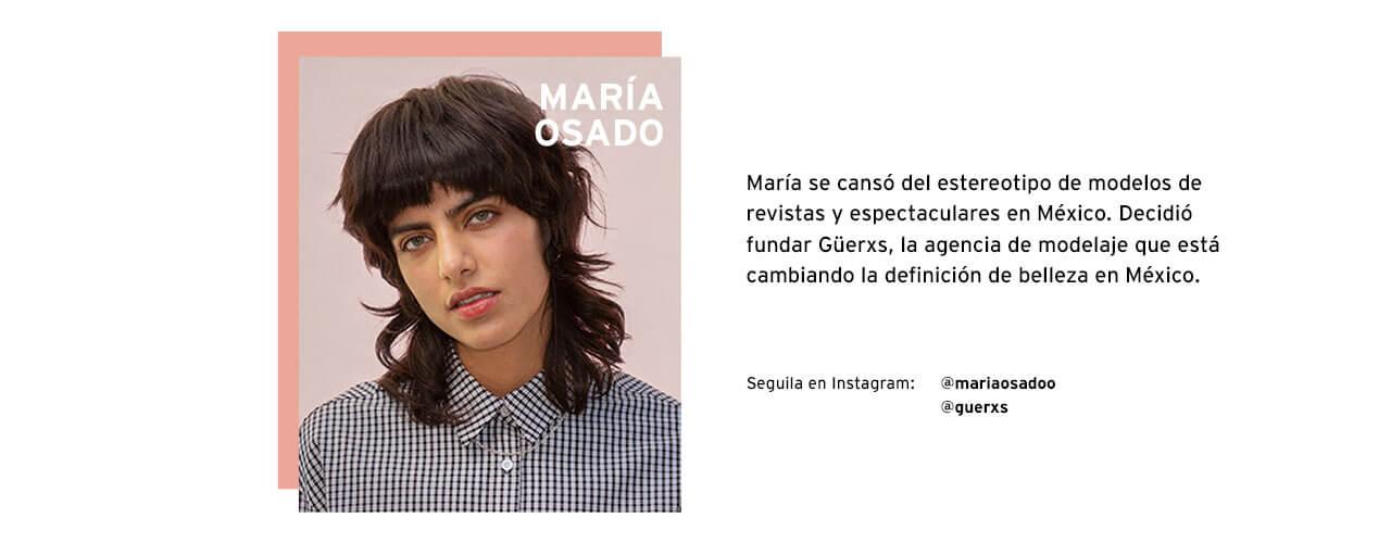 MARIA OSADO I SHAPE MY WORLD