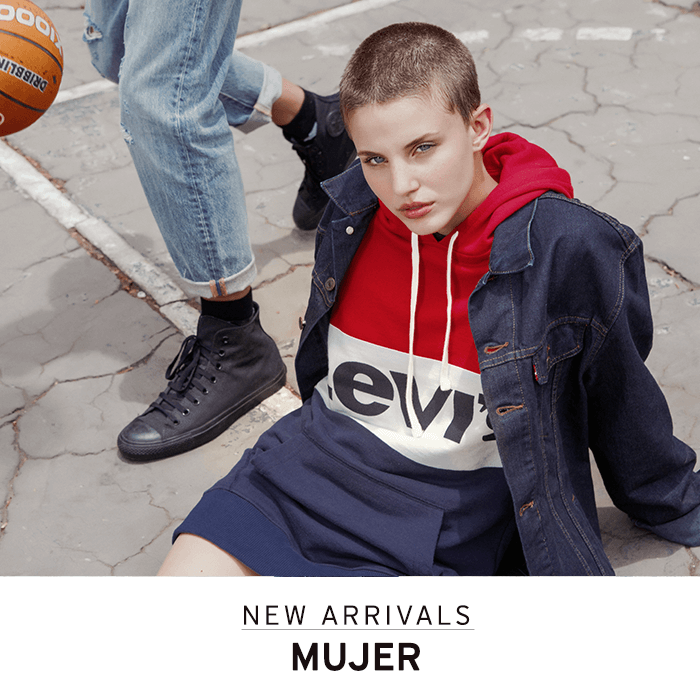 new arrivals 2018 otoño invierno fall winter mujer levis paraguay